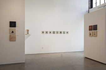 <h5>Emanations Installation</h5><p>Augen Gallery,  Portland, Oregon																																																																																					</p>
