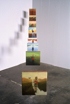 <h5>Memories and Incidents</h5><p>Core Sample, Reallegories exhibition installation, Belmont Factory, Portland, Oregon, 2004																																																																				</p>
