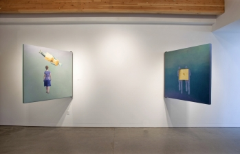 """<h5>Prompts </h5><p>""""Prompts"""" exhibition, Augen Gallery, Portland, OR </p>"""